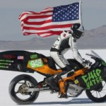 Race with Flag